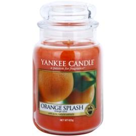 Yankee Candle Orange Splash vonná svíčka 623 g Classic velká