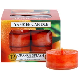 Yankee Candle Orange Splash świeczka typu tealight 12 x 9,8 g