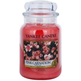 Yankee Candle Pink Carnation Duftkerze  623 g Classic groß