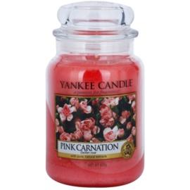 Yankee Candle Pink Carnation ароматна свещ  623 гр. Classic голяма