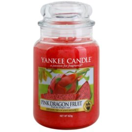 Yankee Candle Pink Dragon Fruit ароматна свещ  623 гр. Classic голяма