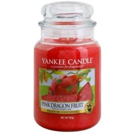 Yankee Candle Pink Dragon Fruit illatos gyertya  623 g Classic nagy méret