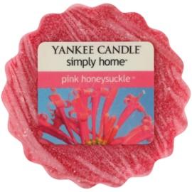 Yankee Candle Pink Honeysuckle cera para lámparas aromáticas 22 g
