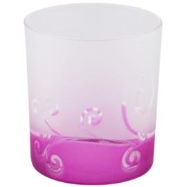 Yankee Candle Purple Scroll Glaskerzenhalter für Votivkerzen