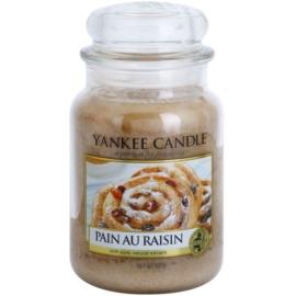 Yankee Candle Pain au Raisin dišeča sveča  623 g Classic velika
