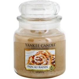 Yankee Candle Pain au Raisin illatos gyertya  411 g Classic közepes méret