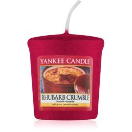 Yankee Candle Rhubarb Crumble votívna sviečka 49 g