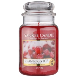 Yankee Candle Cranberry Ice bougie parfumée 623 g Classic grande