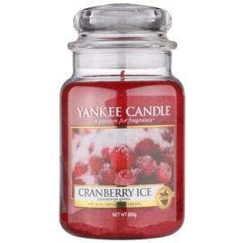 Yankee Candle Cranberry Ice ароматна свещ  623 гр. Classic голяма