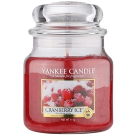Yankee Candle Cranberry Ice Duftkerze  411 g Classic medium