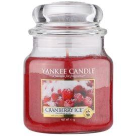Yankee Candle Cranberry Ice ароматна свещ  411 гр. Classic средна