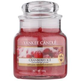 Yankee Candle Cranberry Ice ароматна свещ  104 гр. Classic малка