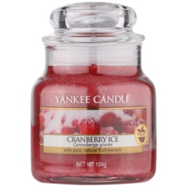 Yankee Candle Cranberry Ice Scented Candle 104 g Classic Mini
