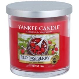Yankee Candle Red Raspberry vonná svíčka 198 g Décor malá
