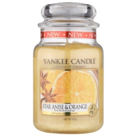 Yankee Candle Star Anise & Orange ароматизована свічка  623 гр Classic велика