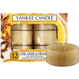 Yankee Candle Star Anise & Orange teamécses 12 x 9,8 g