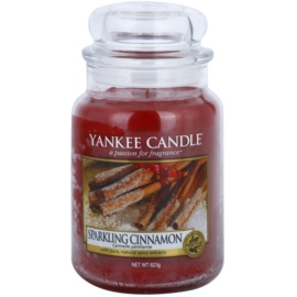 Yankee Candle Sparkling Cinnamon Duftkerze  623 g Classic groß