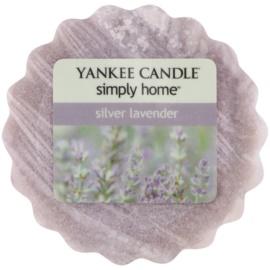 Yankee Candle Silver Lavender illatos viasz aromalámpába 22 g