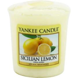Yankee Candle Sicilian Lemon lumânare votiv 49 g
