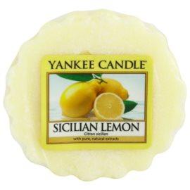 Yankee Candle Sicilian Lemon Wachs für Aromalampen 22 g