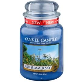 Yankee Candle Blue Summer Sky świeczka zapachowa  623 g Classic duża