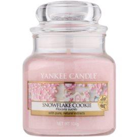 Yankee Candle Snowflake Cookie świeczka zapachowa  104 g Classic mała
