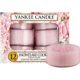Yankee Candle Snowflake Cookie čajna sveča 12 x 9,8 g