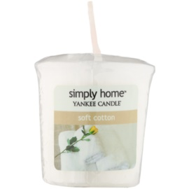 Yankee Candle Soft Cotton lumânare votiv 49 g