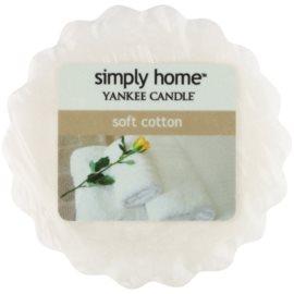 Yankee Candle Soft Cotton Wachs für Aromalampen 22 g