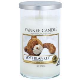 Yankee Candle Soft Blanket vonná svíčka 340 g Décor střední