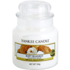 Yankee Candle Soft Blanket bougie parfumée 104 g Classic petite