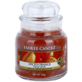 Yankee Candle Spiced Orange Duftkerze  104 g Classic mini