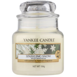 Yankee Candle Sparkling Snow Duftkerze  104 g Classic mini