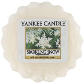 Yankee Candle Sparkling Snow cera para lámparas aromáticas 22 g