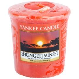 Yankee Candle Serengeti Sunset viaszos gyertya 49 g
