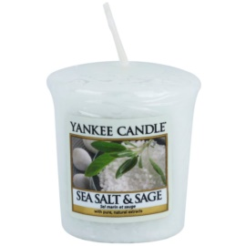 Yankee Candle Sea Salt & Sage viaszos gyertya 49 g