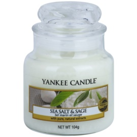 Yankee Candle Sea Salt & Sage Duftkerze  105 g Classic mini