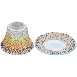 Yankee Candle Sunset Mosaic Candle shade and tray   for Scented Candle Classic, Small