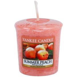 Yankee Candle Summer Peach votívna sviečka 49 g