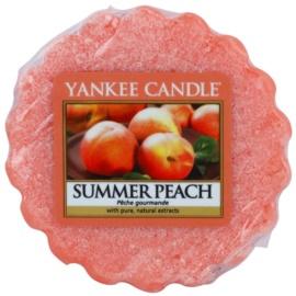 Yankee Candle Summer Peach Wachs für Aromalampen 22 g