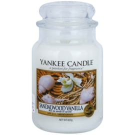 Yankee Candle Sandalwood Vanilla Scented Candle 623 g Classic Large