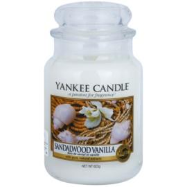 Yankee Candle Sandalwood Vanilla świeczka zapachowa  623 g Classic duża