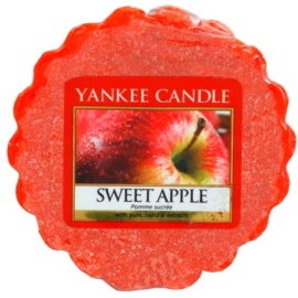 Yankee Candle Sweet Apple cera derretida aromatizante 22 g