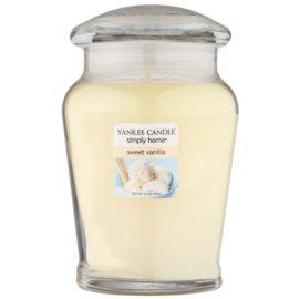 Yankee Candle Sweet Vanilla Duftkerze  340 g mittlere