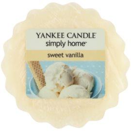 Yankee Candle Sweet Vanilla Wachs für Aromalampen 22 g