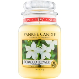 Yankee Candle Tobacco Flower Duftkerze  623 g Classic groß