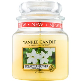 Yankee Candle Tobacco Flower Duftkerze  411 g Classic medium
