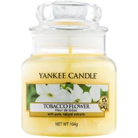 Yankee Candle Tobacco Flower Duftkerze  104 g Classic mini