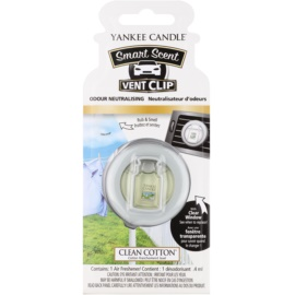 Yankee Candle Clean Cotton aромат для авто 4 мл зажим