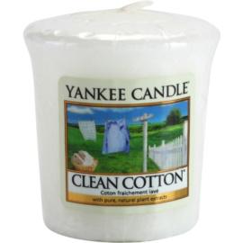 Yankee Candle Clean Cotton Votivkerze 49 g